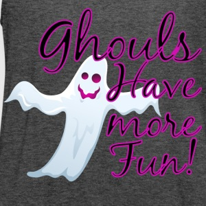 Ghouls Have More Fun, Halloween Ghost T-Shirts - Women's Flowy Tank Top by Bella