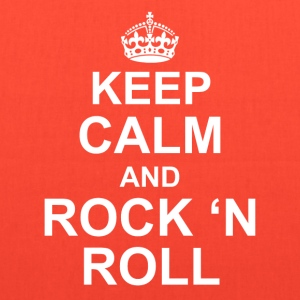 Keep calm and Rock n roll - Tote Bag