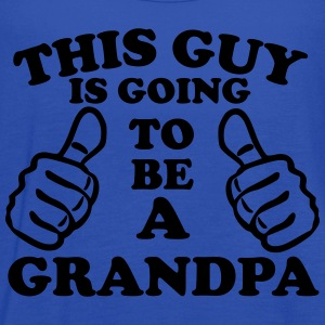 This Guy Is Going To Be A Grandpa T-Shirts - Women's Flowy Tank Top by Bella