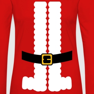 Santa Claus Suit Shirt Tanks - Women's Premium Long Sleeve T-Shirt