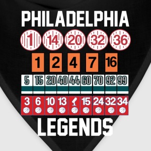 Philadelphia Legends T-Shirts - Bandana