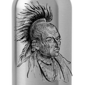 Native American Indian - Water Bottle