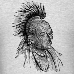 Native American Indian - Men's T-Shirt
