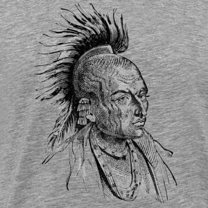 Native American Indian - Men's Premium T-Shirt