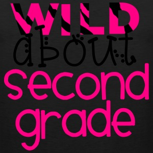 Wild About Second Grade T-Shirts - Men's Premium Tank