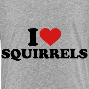 I love Squirrels Kids' Shirts - Toddler Premium T-Shirt