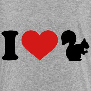 I love Squirrel Kids' Shirts - Toddler Premium T-Shirt