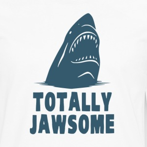 Totally Jawsome Awesome Shark T-Shirts - Men's Premium Long Sleeve T-Shirt