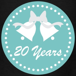 20th Anniversary Tote Bag Gift Idea - Men's T-Shirt