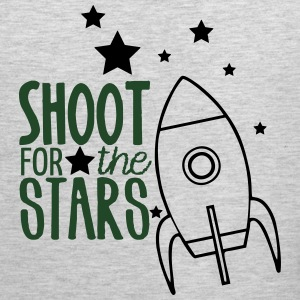 Shoot for the Stars teacher shirt Women's T-Shirts - Men's Premium Tank