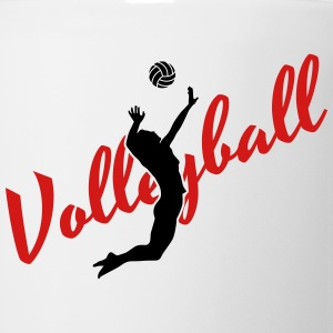Volleyball Hoodies - Coffee/Tea Mug