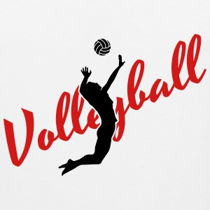 Volleyball Hoodies - Men's Premium Tank