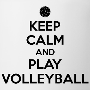 Keep calm and play volleyball T-Shirts - Coffee/Tea Mug