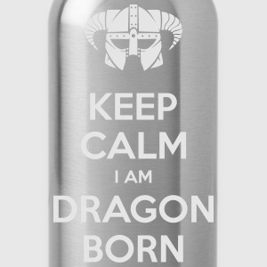 Keep Calm I am Dragonborn T-Shirts - Water Bottle