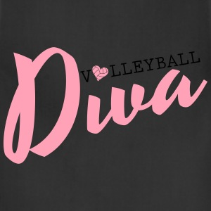 Volleyball Diva Hoodies - Adjustable Apron