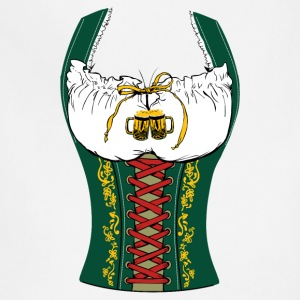 OKTOBERFEST DIRNDL Women's T-Shirts - Adjustable Apron