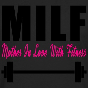 Milf Mom In Love With Fitness Women's T-Shirts - Men's Premium Long Sleeve T-Shirt