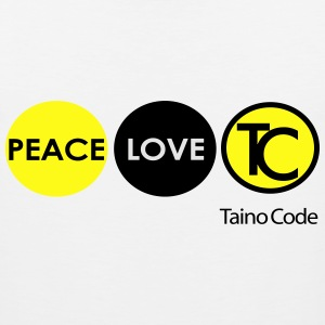 Peace, Love, Taino Code - Men's Premium Tank