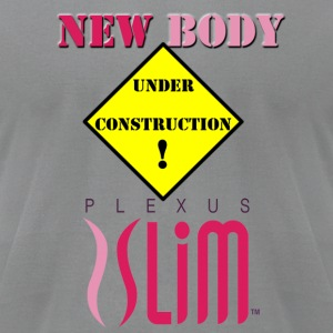 New Body With Plexus Long Sleeve Shirts - Men's T-Shirt by American Apparel