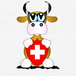 Swiss Cow - Men's T-Shirt