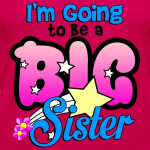 im_going_to_be_a_big_sister Kids' Shirts - Women's Premium Tank Top