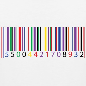 color bar code - Men's Premium Tank