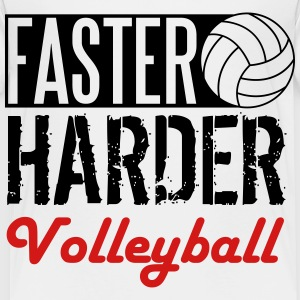 Faster, harder, volleyball Kids' Shirts - Toddler Premium T-Shirt