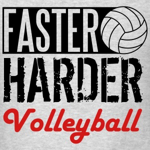 Faster, harder, volleyball Men - Men's T-Shirt