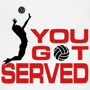 volleyball: you got served Tanks - Adjustable Apron