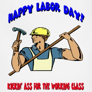 Happy Labor Day T-Shirts - Adjustable Apron