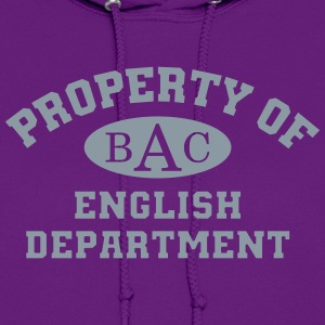 Property Of English Department - Women's Hoodie