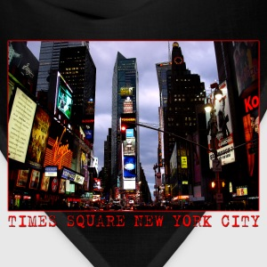 New York Souvenir T-shirt Women's Time Square Shir - Bandana