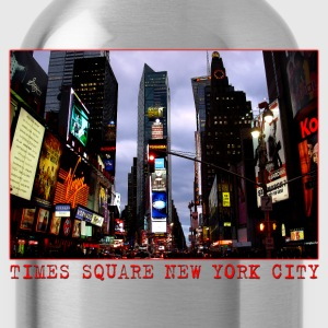 New York Souvenir T-shirt Women's Time Square Shir - Water Bottle