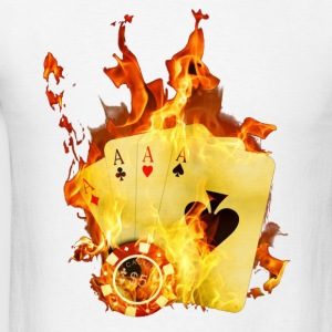 POKER Hoodies - Men's T-Shirt