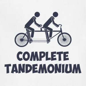 Tandem Bike Complete Tandemonium T-Shirts - Adjustable Apron