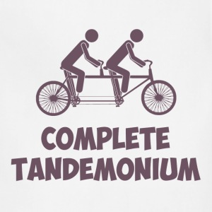 Tandem Bike Complete Tandemonium Women's T-Shirts - Adjustable Apron