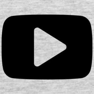 Youtube Play Button Long Sleeve Shirts - Men's Premium Tank