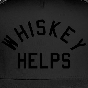 Whiskey Helps T-Shirts - Trucker Cap