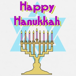 Happy Hanukkah Bottles & Mugs - Men's Premium T-Shirt