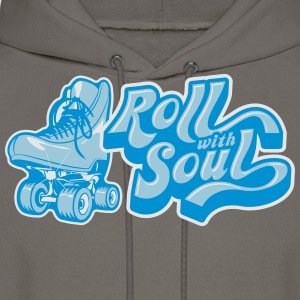 Roll With Soul Vintage - Men's Hoodie