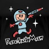Rocket Man - Women's Premium T-Shirt
