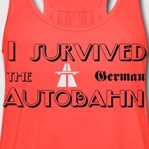 I survived the German Autobahn T-Shirts - Women's Flowy Tank Top by Bella