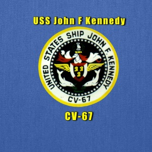 USS John F Kennedy Shirt - Tote Bag
