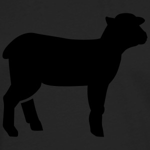 Lamb T-Shirts - Men's Premium Long Sleeve T-Shirt