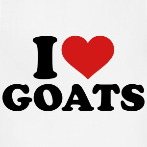 I love Goats T-Shirts - Adjustable Apron