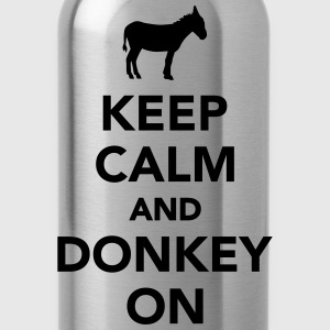 Keep calm and Donkey on Women's T-Shirts - Water Bottle