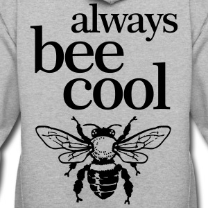 always bee cool - Contrast Hoodie