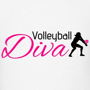 Volleyball Diva Long Sleeve Shirts - Men's T-Shirt