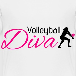 Volleyball Diva Kids' Shirts - Toddler Premium T-Shirt