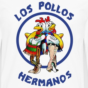 Los Pollos Hermanos_V1 & N2 T-Shirts - Men's Premium Long Sleeve T-Shirt